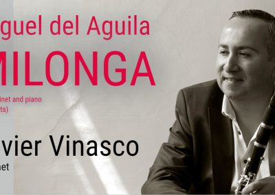 Clarinet piano klarinette klavier Milonga Miguel del Aguila Javier Vinasco clarinete american music EAFIT ClarinetFest Colombia music composer classical contemporar