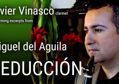 Clarinet piano klarinette klavier Seduccion Miguel del Aguila Javier Vinasco clarinete american music EAFIT ClarinetFest Colombia music composer classical contemporary latin hispanic mode