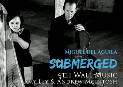 Flute cello harp trio Miguel del Aguila SUBMERGED Amy Ley harp 4th Wall Music Windsor Ontario Walla Walla Chamber Music Festival american music composer classical contemporary composi