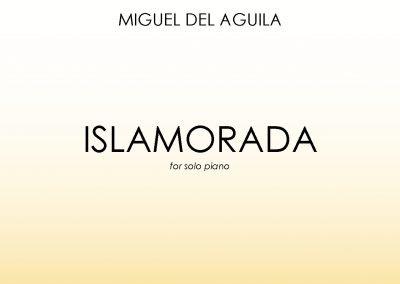 Islamorada solo piano Miguel del Aguila sheet music
