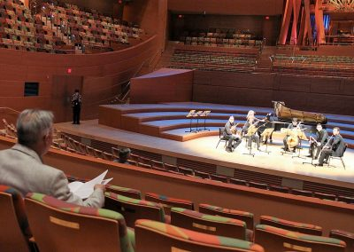 Miguel del Aguila Disney Hall LA Phil Rehearsal Salon Buenos Aires Simon Bolivar orchestra Los Angeles Philharmonic Careno