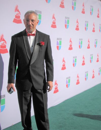 Miguel del Aguila composer at the Grammys
