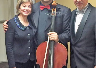 Miguel del Aguila Roman Mekinulov Joann Falletta Concierto en Tango premiere