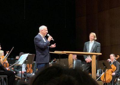 Miguel del Aguila Spokane Symphony Orchestra Eckart Preu conductor Seattle Chautauqua Summer performance