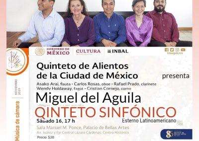 Miguel del Aguila quinteto de vientos QUINTETO SINFONICO wind quintet