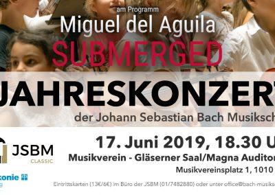 SUBMERGED flöte harfe Bratsche JSBM Trio Musikverein Wien Gläserner Saal