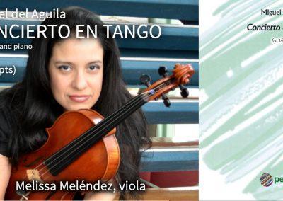 Viola piano duet solo viola viola music solo chamber music alto bratsche klavier modern konzert bratschenkonzert concerto for viola new tango concierto en tango classical miguel