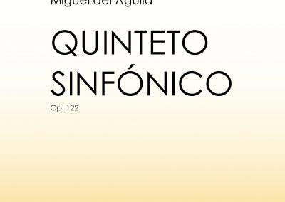 Wind Quintet Quinteto de vientos alientos Quintette à vent Windquintett Holzbläserquintett Miguel del Aguila Quinteto Sinfonico sheet music