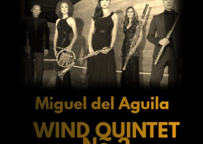 Wind Quintet Windsync The New School Mannes School of Music new york Miguel del Aguila quinteto de vientos american music composer classical contemporary latin hispanic modern A