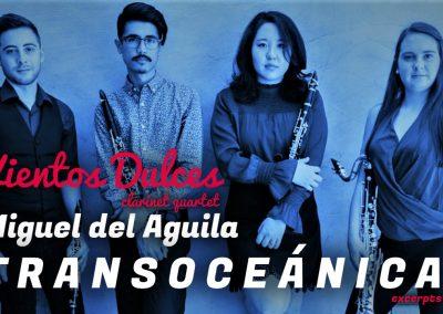 clarinet quartet sheet music repertoire cuarteto de clarinetes Klarinettenquartett quatour de clarinette Miguel del Aguila Transoceanica