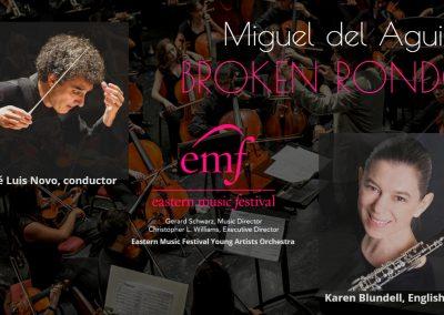Broken Rondo english horn and orchestra miguel del aguila karen blundell jose luis novo eastern music festival gerard schwarz cor anglais.mp4