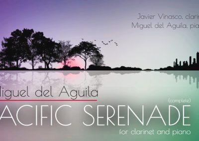 Clarinet piano klarinette klavier Pacific Serenade Miguel del Aguila Javier Vinasco clarinete composer classical contemporar