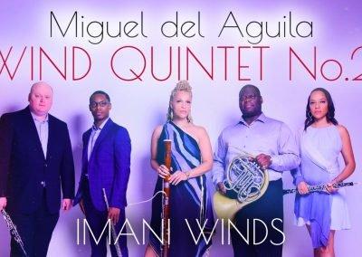 Wind Quintet No.2 Imani Winds woodwind quintet quintette à vent Holzbläserquintett Miguel del Aguila quintetto di fiati Valerie Coleman Mariam Adam quintet de vientos